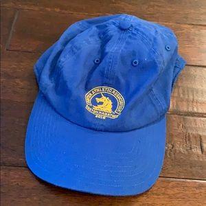 adidas Boston Marathon 2018 Blue Baseball Cap